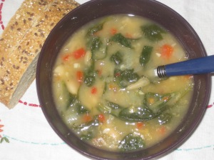 Chloe's Kitchen Tuscan Soup
