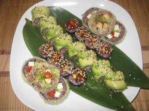 Warsaw Edamame Vegan Sushi (4)