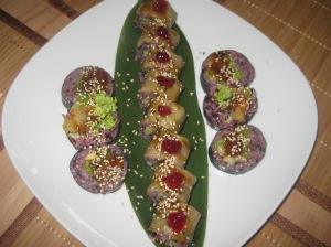 Warsaw Edamame Vegan Sushi (7)