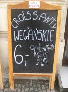 Warsaw vegan croissant