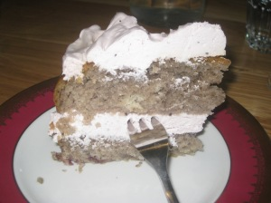 Moment Blackcurrant Cake