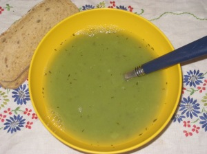 Vegan Soul Kitchen Leek and Pea Puree