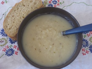 Vegan Soul Kitchen Potato and Rosemary Soup