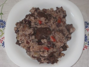 Vegan Soul Kitchen Red Beans and Brown Rice with Red Wine Simmered Seitan (1)