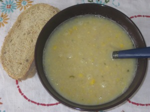 Vegan Soul Kitchen Succotash Soup