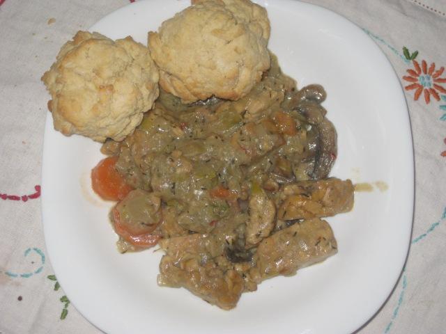 Vegan Soul Kitchen Tempeh Mushroom Stew (1)