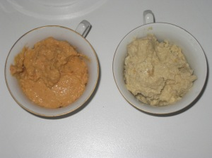 Deliciously Ella Classic Hummus and Roasted Red Pepper Paprika Hummus
