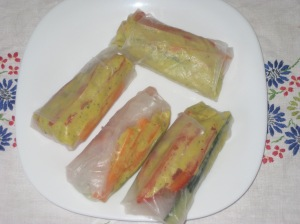 Deliciously Ella Fresh Spring Rolls 001