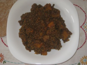 Deliciously Ella Lentil and Butternut Squash Dal
