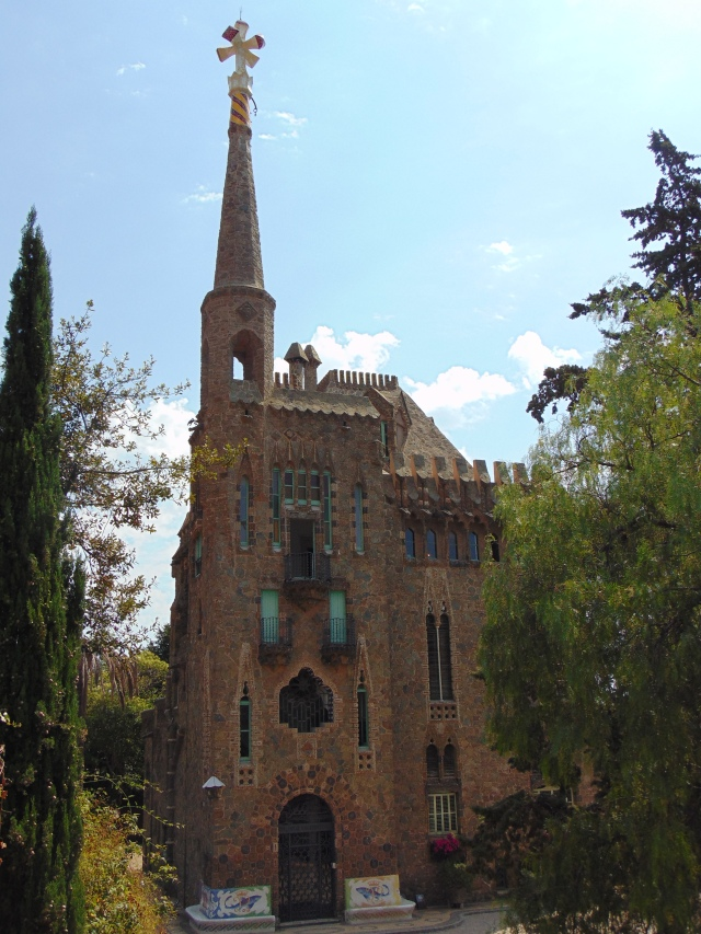 Barcelona Gaudi Torre Bellesguard (1)