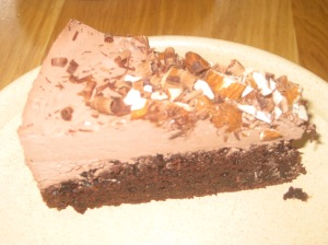 Moment Almond Choc Cake