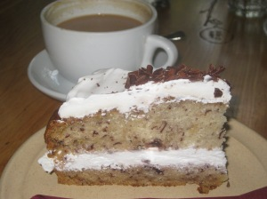 Moment Banana Chocolate Chip Cake