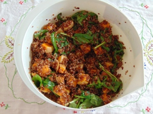 Vegan Bowl Attack Roasted Pumpkin Salad